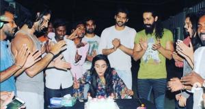 Actress Rati Pandey celebrates her Birthday and last day of Porus