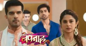 Zoya accepts Aditya's love on Colors TV show Bepannaah