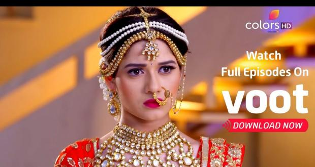 Pankti trashes Ahaan in the wedding mandap on Colors TV show Tu Aashiqui