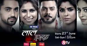 Laal Ishq casts actors Paras Arora & Jigyasa Singh