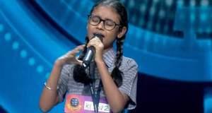 SaReGaMaPa Little Champs 2020: Tanishka Sarkar gets a special salute