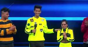 India's Best Dancer: Aman Shah and Sonal Vichare's energetic dance performance