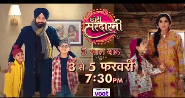 Choti Sardarni Promo Update: Meher to get separated from her kids