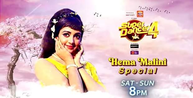 Super Dancer: 25th September 2021, 26th September 2021, Season 4, Hema Malini